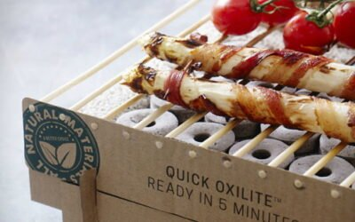 Have a BBQ and leave no trace behind with the biodegradable CasusGrill